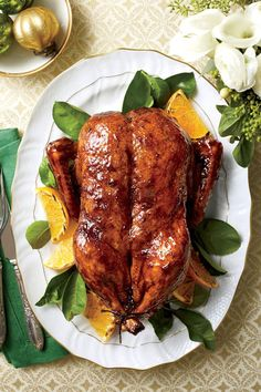 Elegant Holiday Entrée Recipes | Center your meal on one of these festive and hearty main dish recipes. You've found the elegant centerpiece of your holiday table.
