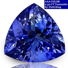 Reasonable Trillion Cut Tanzanite Loose Gemstone, Jewelry Making or Collecting