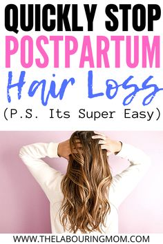 #NaturalHairLossPrevention Oil For Hair Loss, Stop Hair Loss, Hair Loss After Baby, Baby Hair Loss, Hair Loss After Pregnancy, Pregnancy Hair, Pregnancy Tips, Thinning Hair Remedies, Hair Loss Remedies