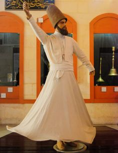 Model of a Whirling Dervish