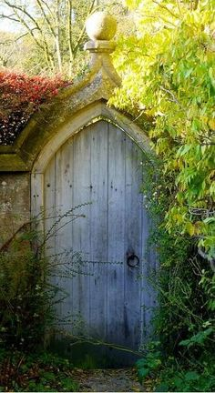 door to a secret garden.
