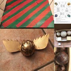 Harry Potter Quidditch Box diy