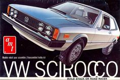 AMT VW Scirocco box art