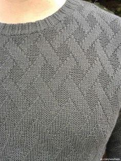 I Love Handmade - Diy Crafts Fair Isle Knitting Patterns, Knit Patterns, Sweater Knitting Patterns, Knitting Videos, Knitting Stitches, Crochet Skirt Pattern, Diy Bags Purses, Sweater Design, Men Sweater