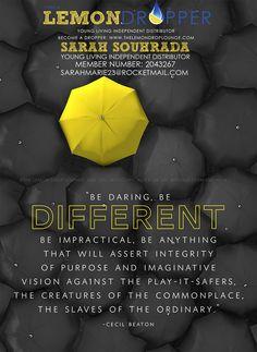 DARE TO BE DIFFERENT 1.2 #essentialoils #dan330 http://livedan330.com/2015/03/27/essential-oils/