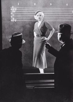 Jean Harlow in a production still from The Best of the City (Charles Brabin, 1932)
