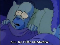 homer simpson marge simpson halloween season 2 episode 3 2x03 i hate halloween #humor #hilarious #funny #lol #rofl #lmao #memes #cute