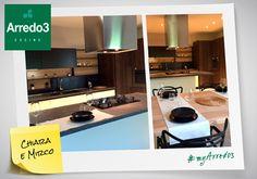 Da Poggio Rusco, in provincia di Mantova, ecco la splendida cucina Kalì di Chiara e Mirco, a cura di Bisi Arredamenti!  #myArredo3   #Arredo3