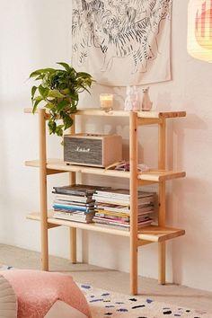 Best Shelves At Urban Outfitters – Cool Hanging Storage Interior Design Minimalist, Minimalist Home Decor, Minimalist Bedroom, Minimalist Kitchen, Minimalist Living, Modern Minimalist, Home Design Decor, Diy Home Decor, House Design