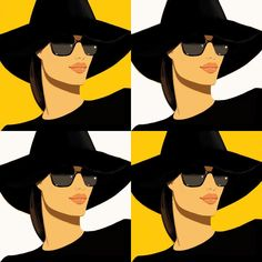 I was going to post one of my favourite Alex Katz paintings but I thought it would be more fun to make my own version. Love his work. -- Jason Brooks