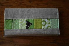 Checkbook Cover from Crazy Mom Quilts