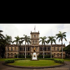 Hawaii Five-0 Headquarters aka Ali'iolani Hale.  Downtown, Honolulu, Hawaii