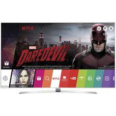 Televizor LG 65UH950V, 165 cm, 4K UHD, Smart TV, 3D, Argintiu
