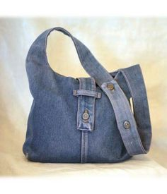 Jeans - love the fastening on this bag