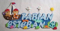 Nombres, Carteles Bienvenida Dl Bebe De Foami - Cagua - Aragua - Niños - Bebés