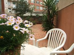 "Apartment in Barcelona located in Tetúan square, in the heart of the right part of ""Eixample"" . 15 minutes walking to the Sagrada Familia and gothic area. It has a large terrace of 80 m2 and a small balcony"