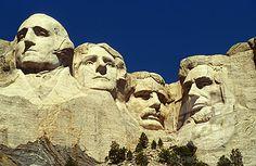 America Beautiful In Place Tourist Attractions | SuperStock - Mt. Rushmore, South Dakota, USA