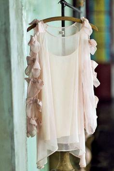 Million Carats リボンスリーブブラウス / Ribbon Sleeve Blouse on ShopStyle