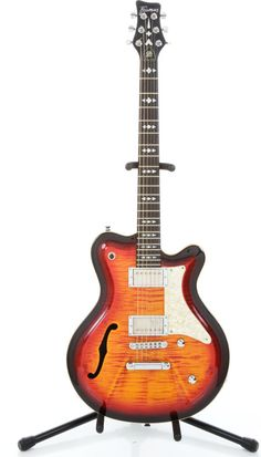 Recent Framus Framus Tennessee Sunburst Semi-Hollow Body Electric Guitar
