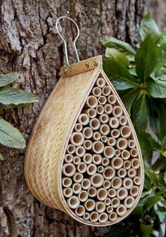 Mason Bee House - http://modernfarmer.com/thingswelove/mason-bee-house/?utm_source=PN&utm_medium=Pinterest&utm_campaign=SNAP%2Bfrom%2BModern+Farmer