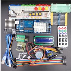 Cheap microcontroller starter kits, Buy Quality microcontroller kit directly from China microcontroller arduino uno Suppliers: Intelligent Robot Arduino Starter Kit 2016 Update UNO Microcontroller Arduino Sensors, Green Led, Remote Control Toys, Intelligent Robot, Light Sensor, Electronics Projects, Starter Kit, Raspberry, Projects To Try