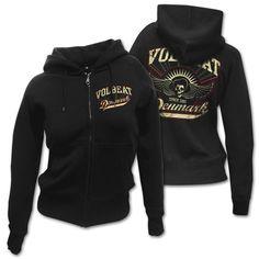 Volbeat Rise From Denmark Women's Hoodie