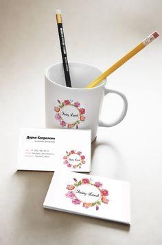 Дизайн логотипа и визитной карточки. Дизайнер - Дарья Капралова @daryakapralova