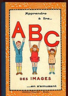 ABC des Images, French alphabet book