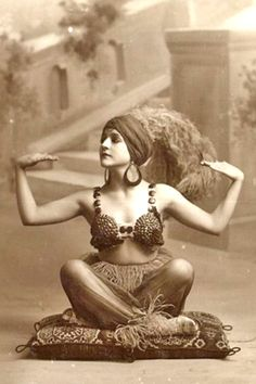 1910, vintage, meditation, yoga, photo