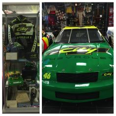 The Original City Chevrolet From Days Of Thunder @ Hendrick Museum