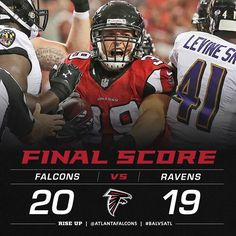 Wrapped up the preseason with a victory! #RiseUp #Falcons