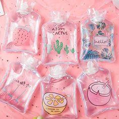 Aesthetic Food, Pink Aesthetic, Mini Things, Cool Things To Buy, Cute Water Bottles, Kawaii Room, Kawaii Accessories, Cute Cups, Fruit Print