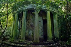 The Baron Hill Estate Abandoned Ruins in Beaumaris – Abandoned Playgrounds