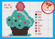 Dhebyart: Gráficos Cupcakes