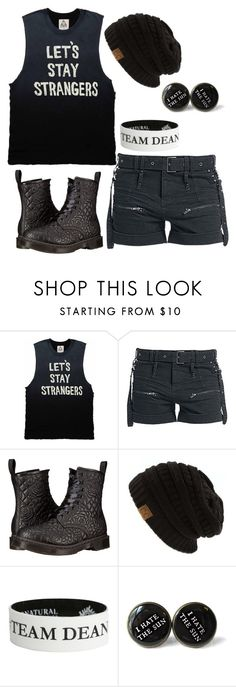 """When i Meet someone i don't like"" by coffeeismysoul ❤ liked on Polyvore featuring Dr. Martens"