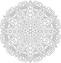 Stress Less Coloring: Mandalas