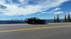 Porsche 928 S4 on Squaw Pass above Idaho Springs, CO