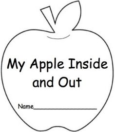 In the fall we do an apple unit. One of my most favorite things is apple exploration. I did not have any way for the students to record their findings so I made this book that incorporates: inside, outside, weight, length, and sink or float. Enjoy!