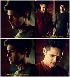 "#Shadowhunters 2x15 ""A Problem of Memory"" - Alec and Magnus"