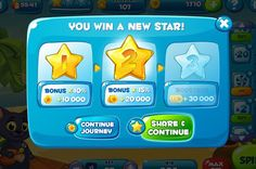 Ui for game by Dari Ermolova, via Behance