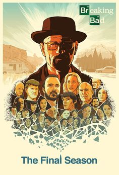 Breaking Bad Poster Design by Guy Shield, via Behance