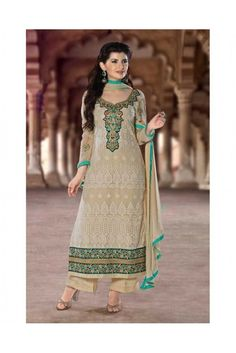 Transform your appearance wearing this Beige and Green salwar suit made of georgette. #womensethnicwear #ethnicwearforwomen #womensethnicfashion #salwarsuitsforwomen #womenssalwarsuits #pakistanlawnsuitsforwomen #ethnicwearforwomen https://trendybharat.com/women/ethnics-wear/women-ethnic-wear-pakistani-lawn-suits/beige-and-green-georgette-salwar-suit-set-dl18002