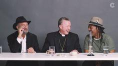 Ein Rabbi, ein Priester und ein Atheist werden gemeinsam high