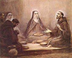 santa francrsco | Mensagens de Francisco e Clara