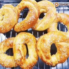 The Kitchen Food Network, Onion Rings, Bagel, Food Network Recipes, Doughnut, Bread Recipes, Brunch, Cookies, Baking
