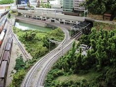 Model Train Layouts N Scale   This N scale layout will be fo…   Flickr