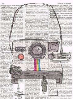 Polaroid Camera.Snapshot.Original Instagram.Gift