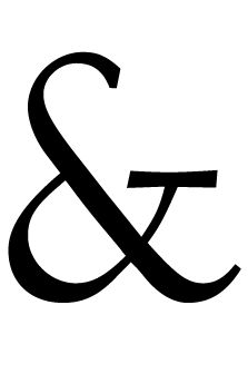 ampersand by Jim Rimmer