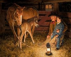 Western Art by Cowboy Artist Loren Entz: Originals & Prints Cowboy Horse, Cowboy Art, Western Photo, Western Art, Art Occidental, Heritage Museum, Mary Cassatt, Summer Prints, Country Art