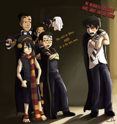 Cross Over between Harry Potter and Avatar